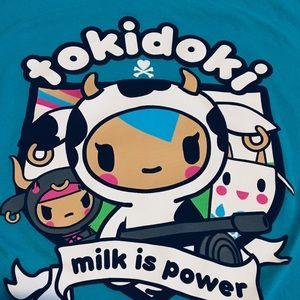 Tokidoki Teal Moofia T-shirt